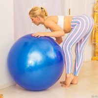 Hot blonde MILF pornstar Ashley Fires taking hardcore DP in sexy leggings