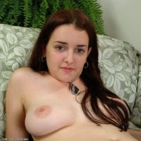 European amateurs with big natural tits spreading their hairy vaginas wide open