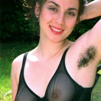 European first timers show off hairy underarms and pussies outdoors in bare feet